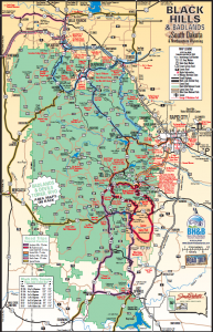 Balack Hills map